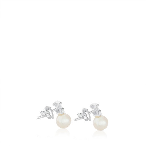 Silver Puppies Earrings-Tous Canada