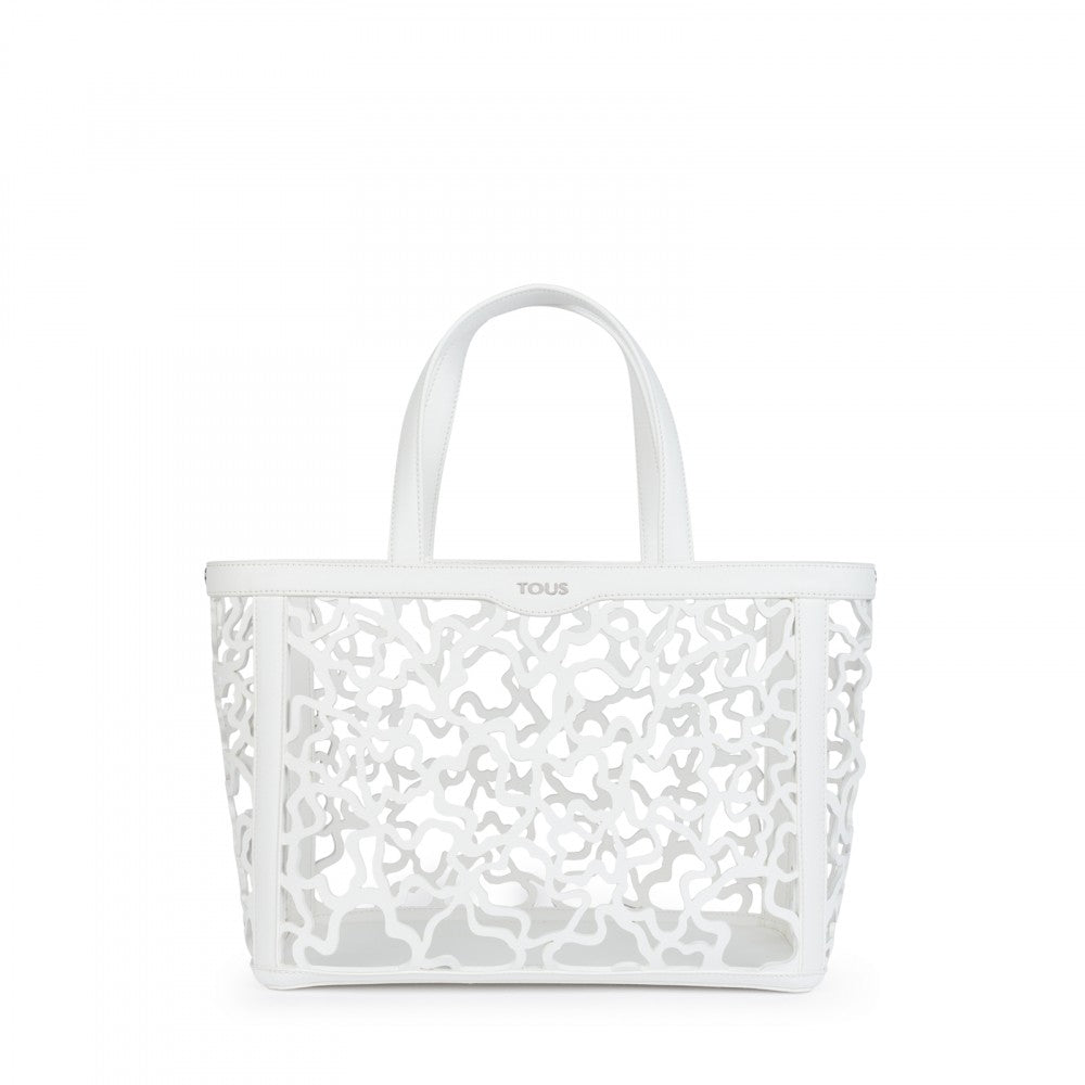 Medium white Kaos Shock Tote bag