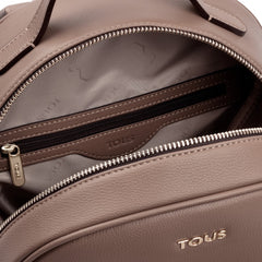 Taupe Patch Maia Backpack