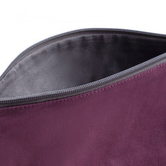 Medium burgundy-gray Kaos Shock Reversible Handbag