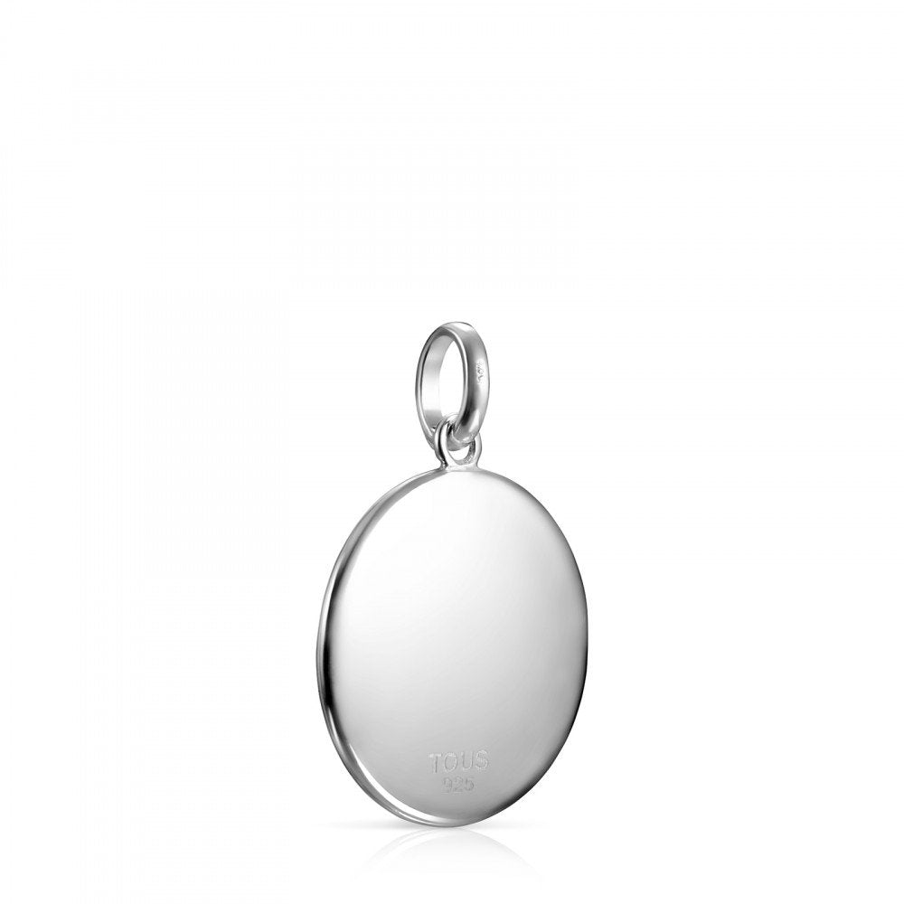 Large Silver Medallions Pendant