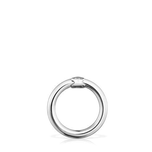 Medium Silver Hold Ring-Tous Canada
