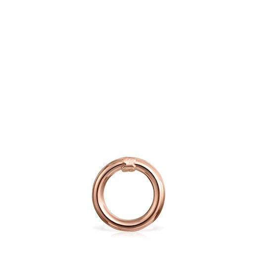 Small Rose Vermeil Silver Hold Ring-Tous Canada