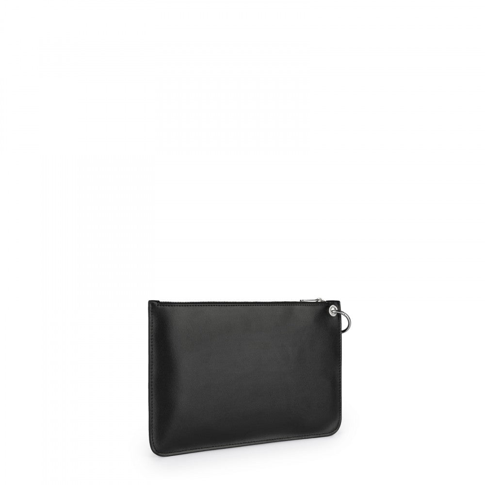 Black Hold Clutch bag