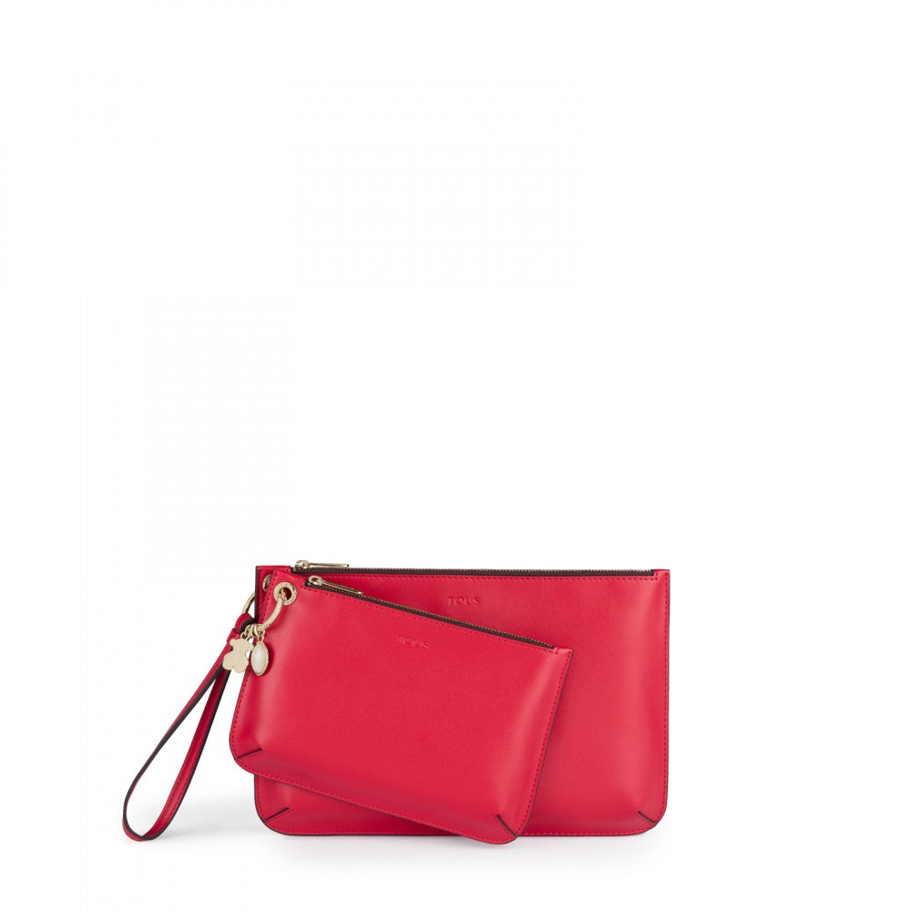 81359e684c Red Hold Clutch bag. Hover to zoom