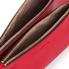 Red Hold Clutch bag