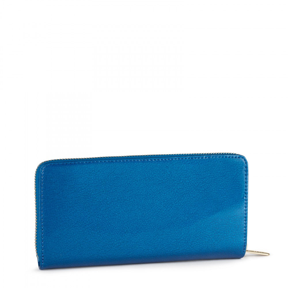 Medium Blue Dorp Wallet