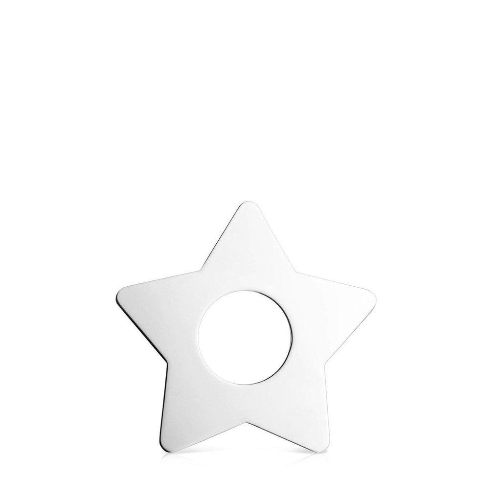 Big Silver Star Pendant