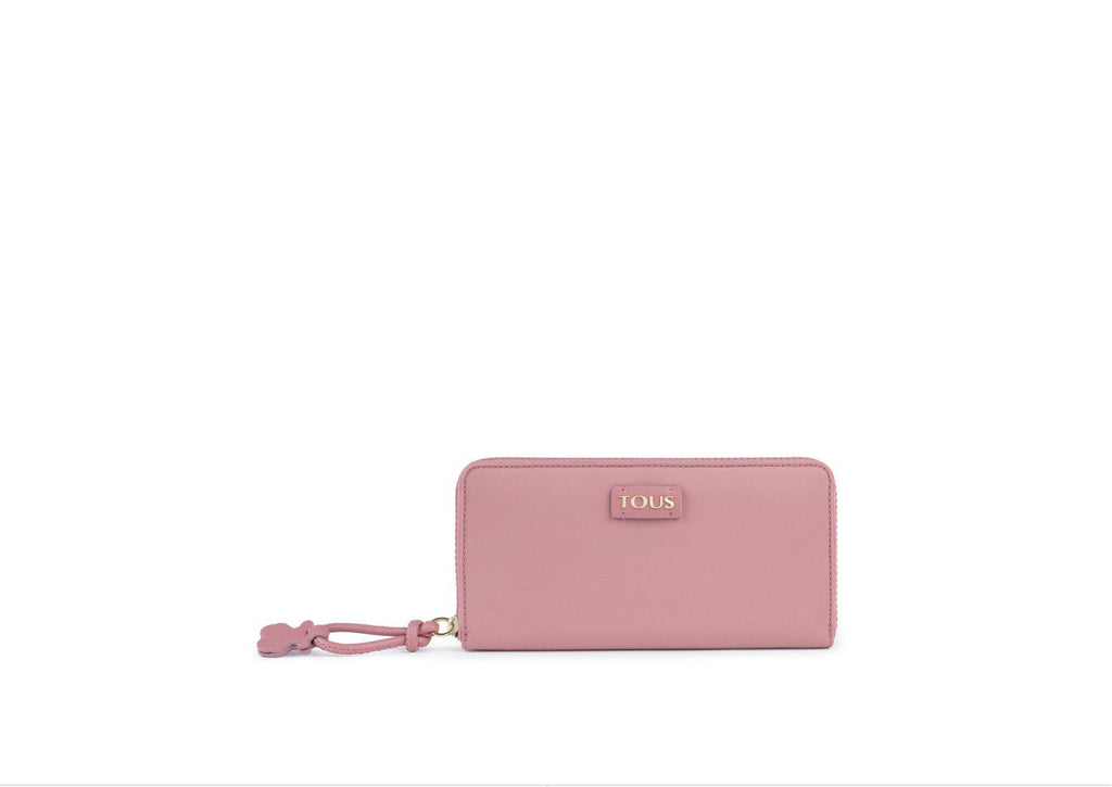 Medium Pink Nylon Doromy Wallet