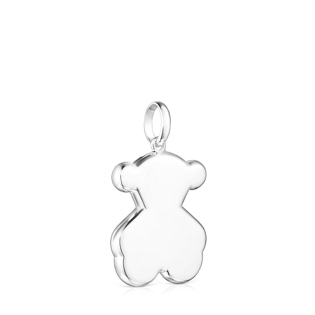 Silver Sweet Dolls Bear Pendant