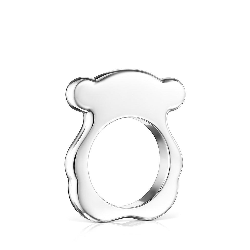 Silver New Sweet Dolls Bear Ring-Ring-Tous Canada