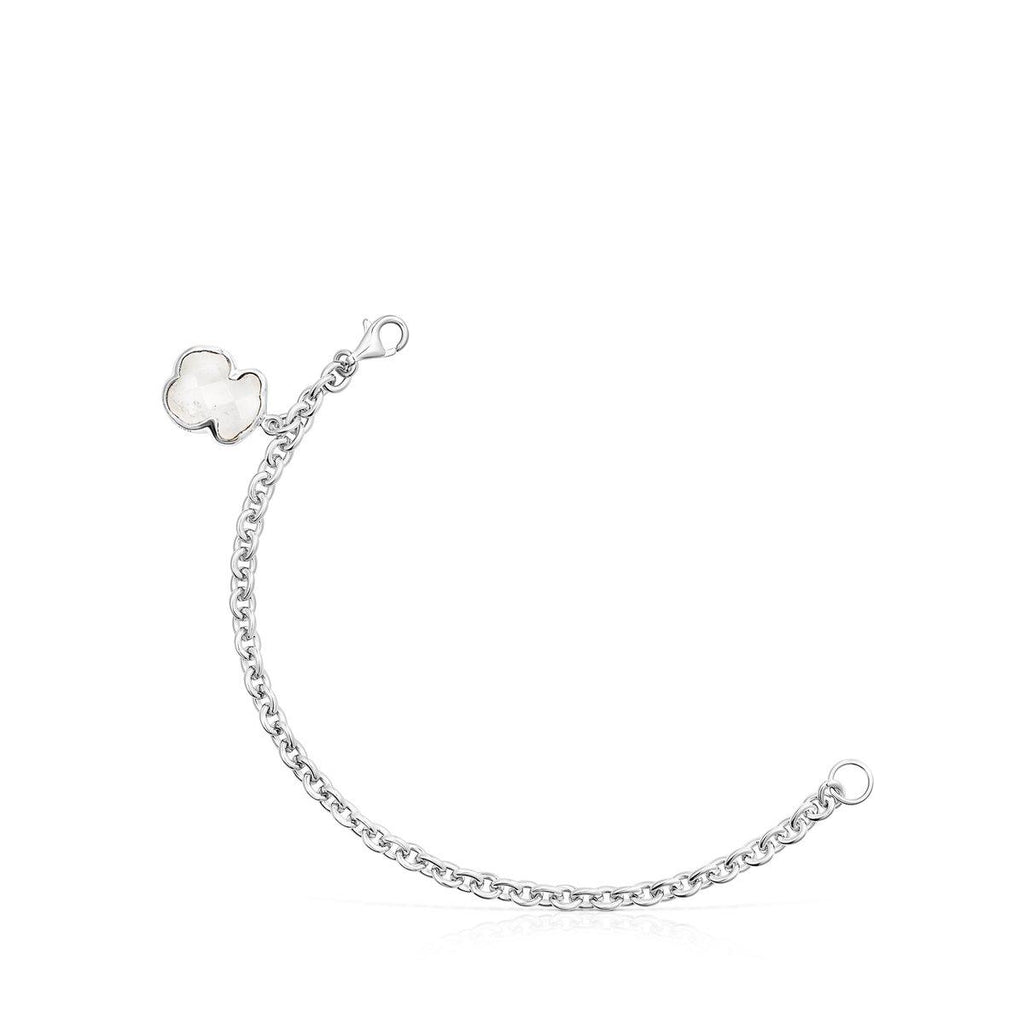 Silver and Rock Crystal Sweet Dolls Colour Bracelet-Bracelet-Tous Canada