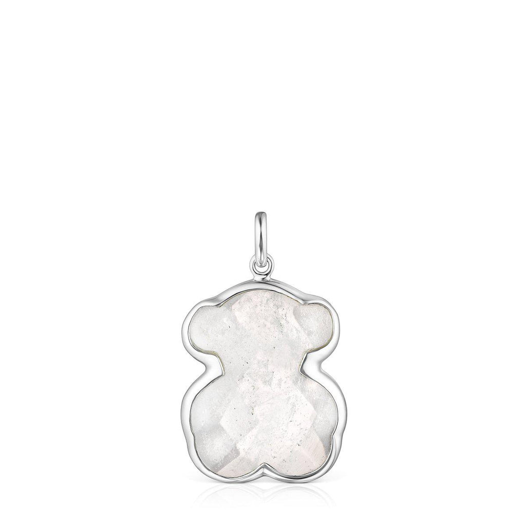 Silver and Rock Crystal Sweet Dolls Colour Pendant