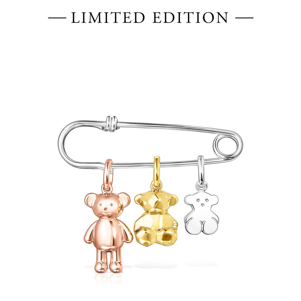Teddy Bear Safety pin – Limited edition
