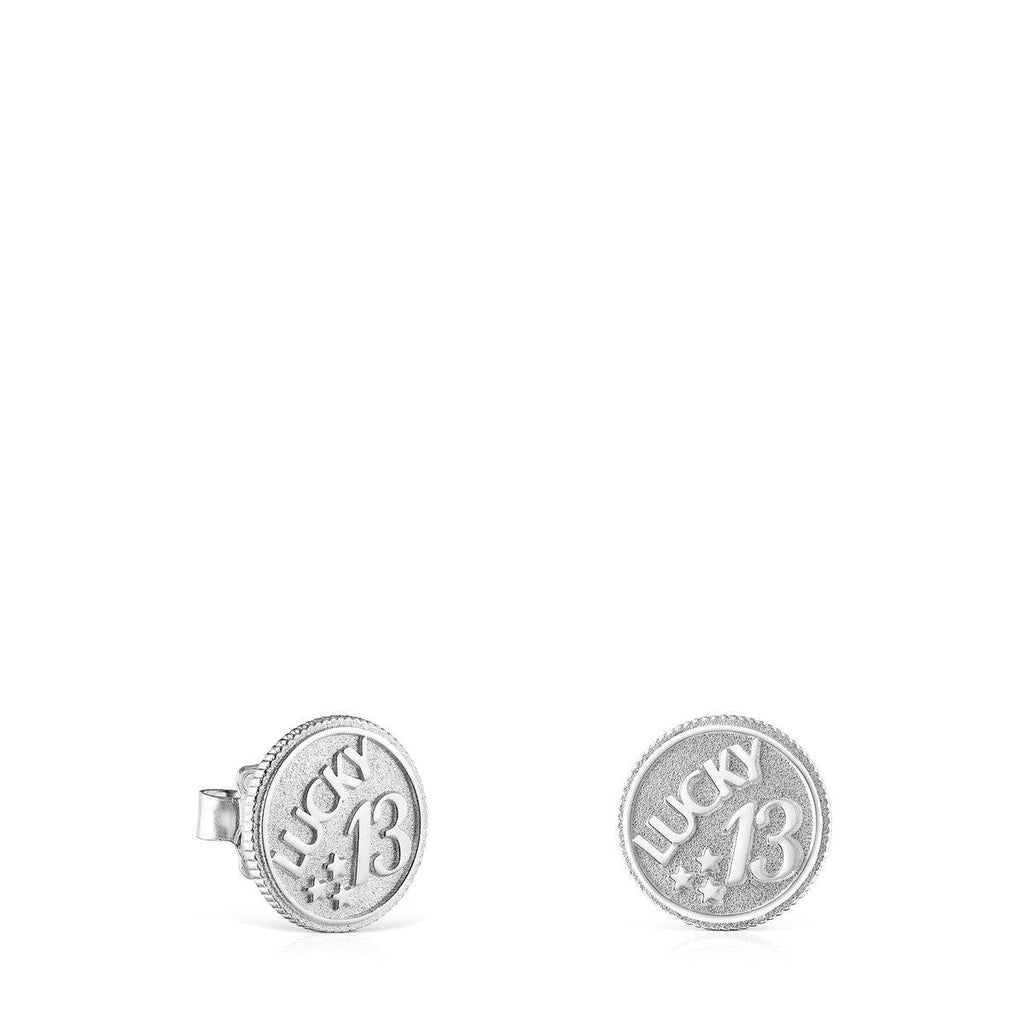 Silver TOUS Good Vibes 13 Earrings