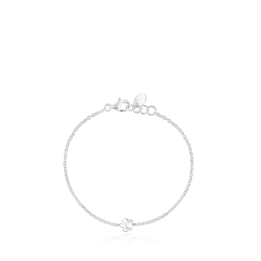 Silver Mini Icons flower-heart Bracelets set-Tous Canada