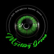 IsFoy® Eye Color Circle Lens Mystery Green Colored Contact Lenses V6003