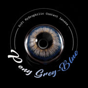 IsFoy® Eye Color Circle Lens Pony Grey-Blue Colored Contact Lenses V6168