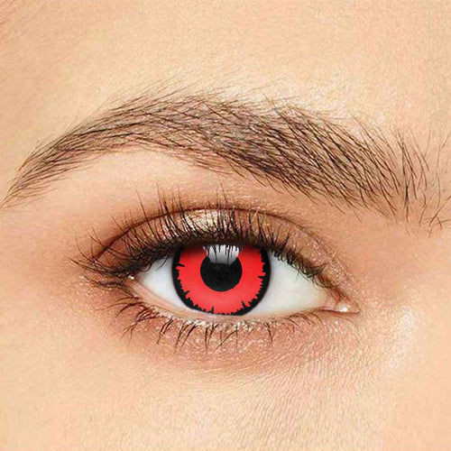IsFoy® Soft Color Circle Lens RED ANGELIC VAMPIRE COLORED PRESCRIPTION CONTACT LENSES K8620