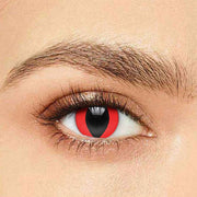 IsFoy® Soft Color Circle Lens RED CAT'S EYE HALLOWEEN COLORED CONTACT LENSES K8622