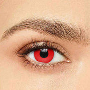 IsFoy® Soft Color Circle Lens RED HALLOWEEN COLORED CONTACT LENSES K8623