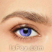 IsFoy® Soft Color Circle Lens VIOLET GALAXY COLORED CONTACT LENSES K8631