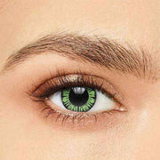 IsFoy® Soft Color Circle Lens GREEN PARTY BIG EYES COLORED CONTACT LENSES K8637