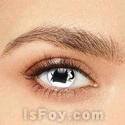 IsFoy® Soft Color Circle Lens BLACK/WHITE CAPE OF DRACULA COLORED CONTACT LENSES K8652
