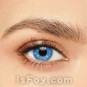 IsFoy® Soft Color Circle Lens BLUE GLIMMER COLORED CONTACT LENSES K8658