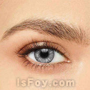 IsFoy® Soft Color Circle Lens GRAY ONE TONE NATURAL COLORED CONTACT LENSES K8686