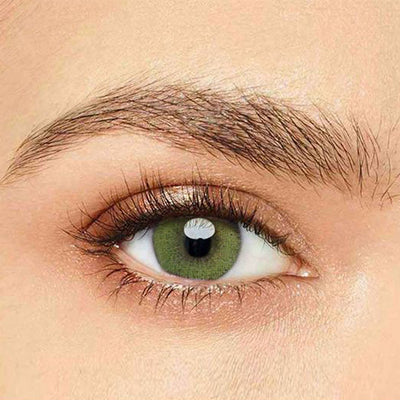 IsFoy® Eye Color Circle Lens Super Natural Yellow-Green Colored Contact Lenses V6029