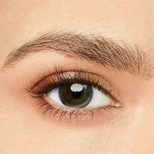 IsFoy® Eye Color Circle Lens Edge Yellow-Green Colored Contact Lenses V6040