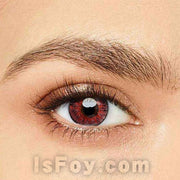 IsFoy® Eye Color Circle Lens Floweriness Pink Colored Contact Lenses V6055