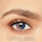 IsFoy® Eye Color Circle Lens Galaxy Pink Colored Contact Lenses V6061