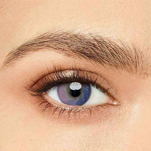 IsFoy® Eye Color Circle Lens Galaxy Purple Colored Contact Lenses V6062