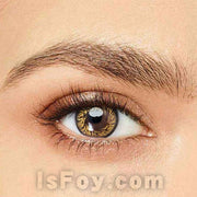 IsFoy® Eye Color Circle Lens Gold Angel Wing Colored Contact Lenses V6063