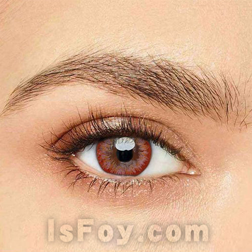 IsFoy® Eye Color Circle Lens Lily Pink Colored Contact Lenses V6081