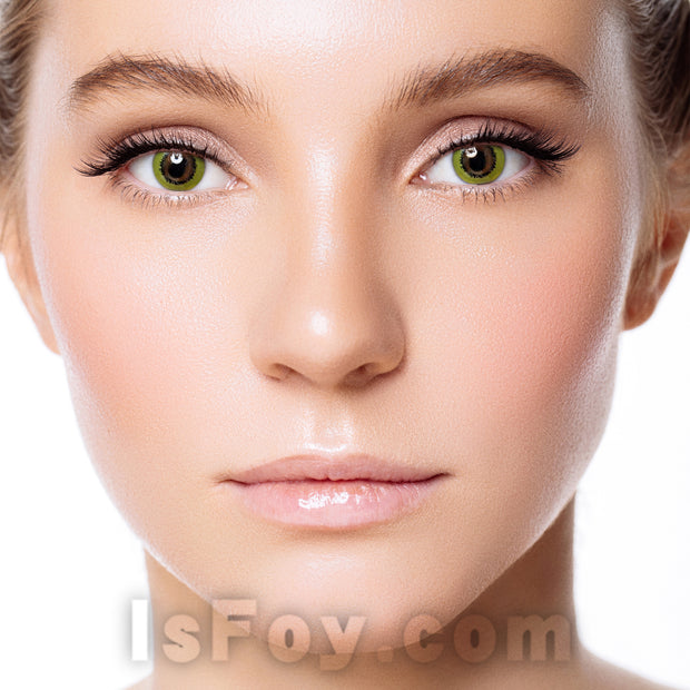 IsFoy® Eye Color Circle Lens Magic Yellow Colored Contact Lenses V6084