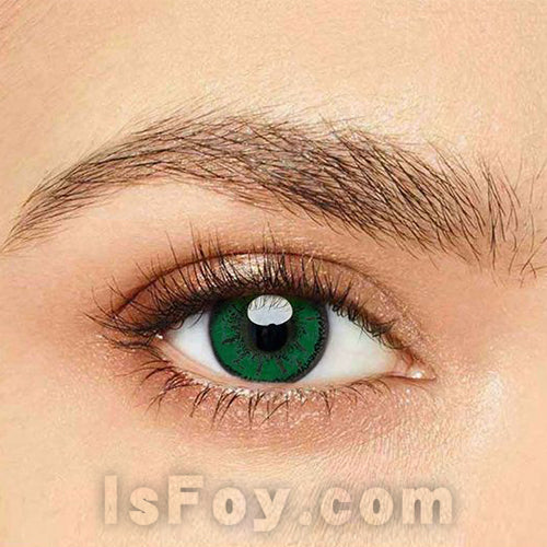 IsFoy® Eye Color Circle Lens Miku Green Colored Contact Lenses V6088