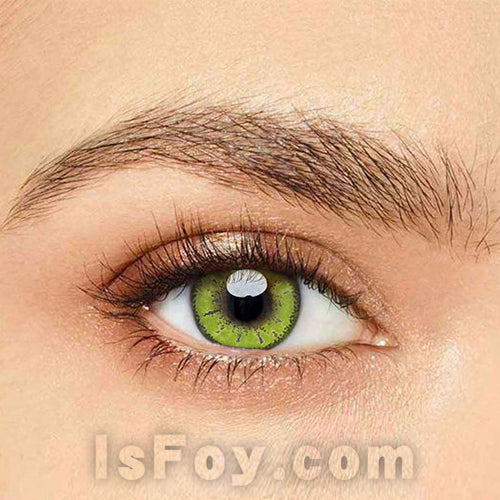 IsFoy® Eye Color Circle Lens Kise Ryota Yellow Colored Contact Lenses V6093