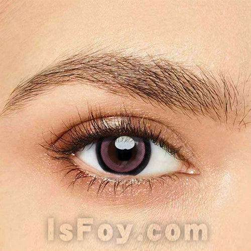 IsFoy® Eye Color Circle Lens Moonlight Pink Colored Contact Lenses V6094