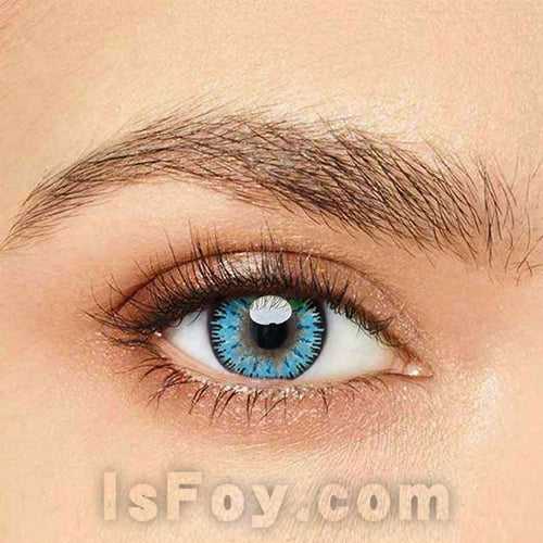 IsFoy® Eye Color Circle Lens Mystery Blue Colored Contact Lenses V6095