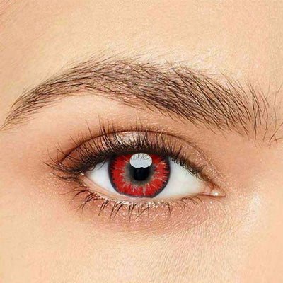 IsFoy® Eye Color Circle Lens Mystery Red Naruto Colored Contact Lenses V6097