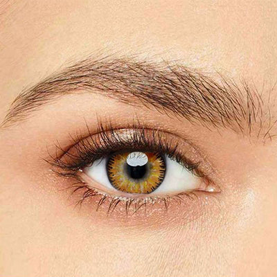 IsFoy® Eye Color Circle Lens Mystery Yellow Colored Contact Lenses V6098