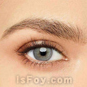 IsFoy® Eye Color Circle Lens Pearl Grey Colored Contact Lenses V6104