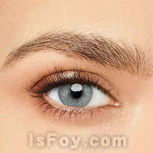 IsFoy® Eye Color Circle Lens Polar Lights Blue-Grey Colored Contact Lenses V6107
