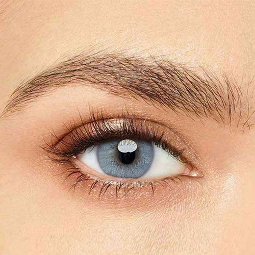 IsFoy® Eye Color Circle Lens Polar Lights Grey Colored Contact Lenses V6111