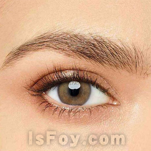 IsFoy® Eye Color Circle Lens Queen Brown Colored Contact Lenses V6115