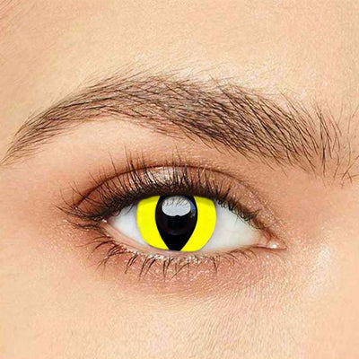 IsFoy® Eye Color Circle Lens Reptile Glow Colored Contact Lenses V6125