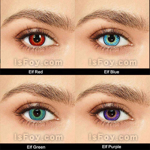 IsFoy® Eye Color Circle Lens Elf Series Contact Lens Kit V6143